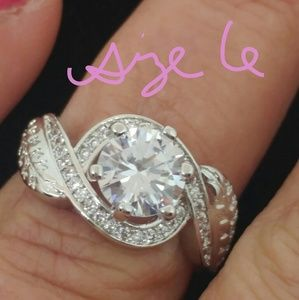 2 Carat CZ Wedding Ring